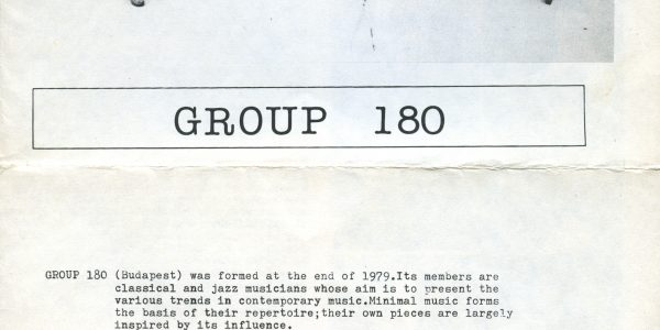 Group 180, 1981 (page 1)